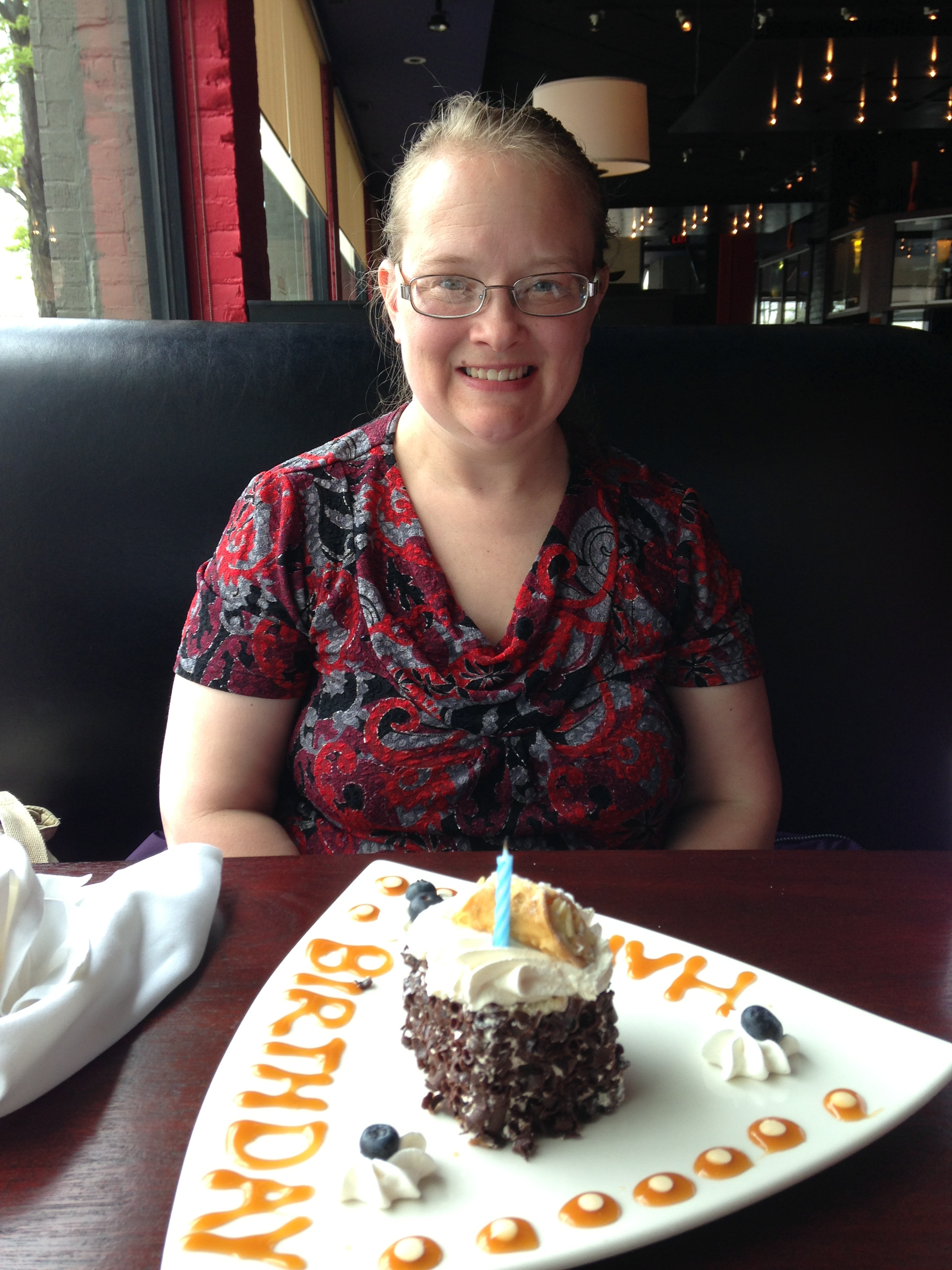 A friend even chose to spend her day off taking me out to lunch for my Birthday last year