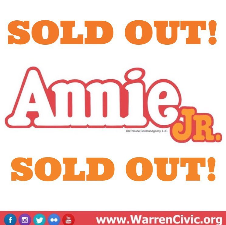 Annie Sold Out